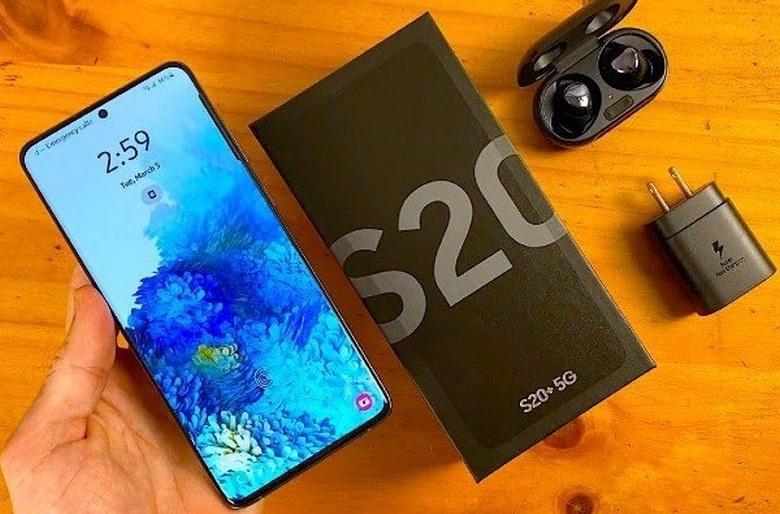 Phụ kiện Samsung Galaxy S20 Plus chip Mỹ