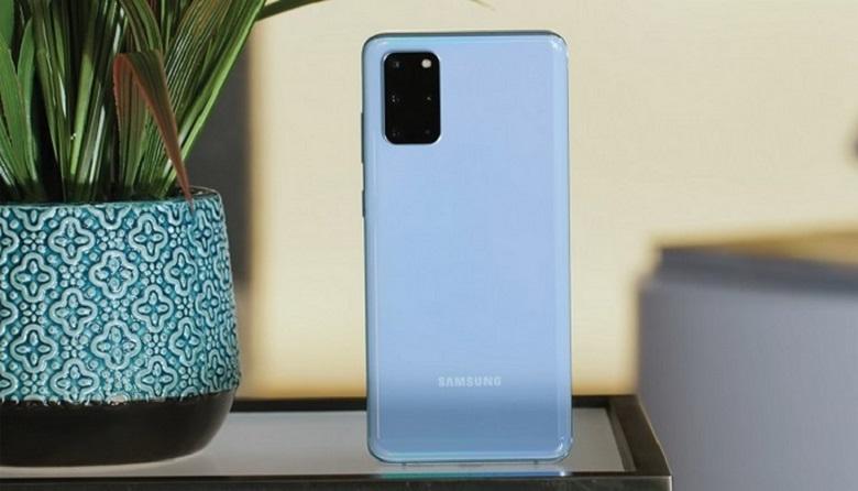 mặt lưng Samsung Galaxy S20 Plus chip Mỹ