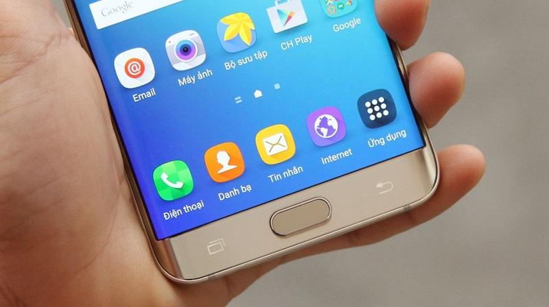Nút Home của Galaxy S6 Edge Plus cũ