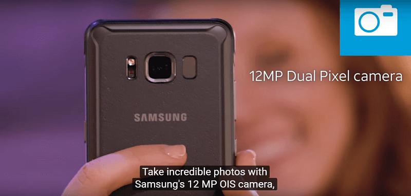 Camera Samsung Galaxy S8 Active