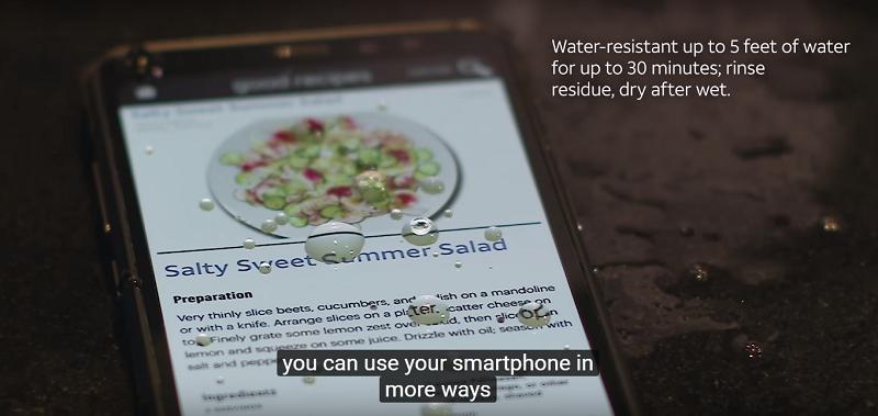 Samsung Galaxy S8 Active chống nước