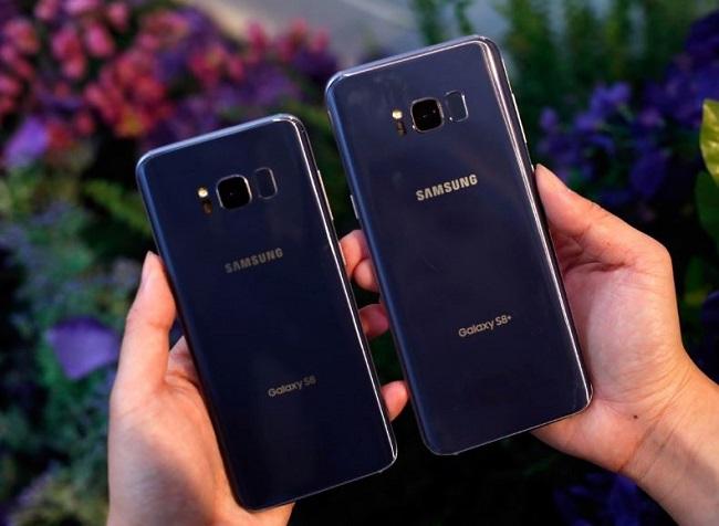 Thiết kế Samsung Galaxy S8 Plus