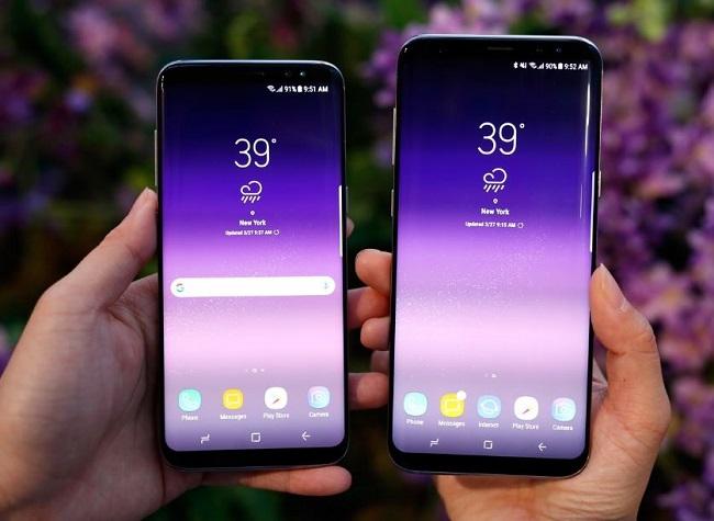 Samsung Galaxy S8 Plus không còn nút Home