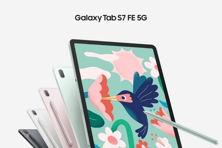 Màu sắc Samsung Galaxy Tab S7 FE