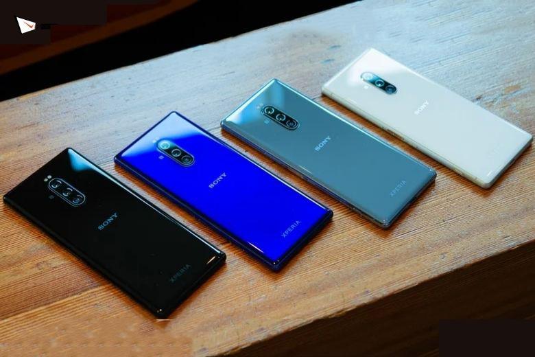 Sony Xperia 1 màu sắc