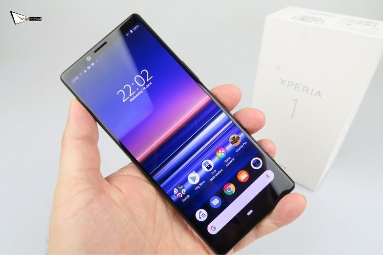 ngoại hình Sony Xperia 1