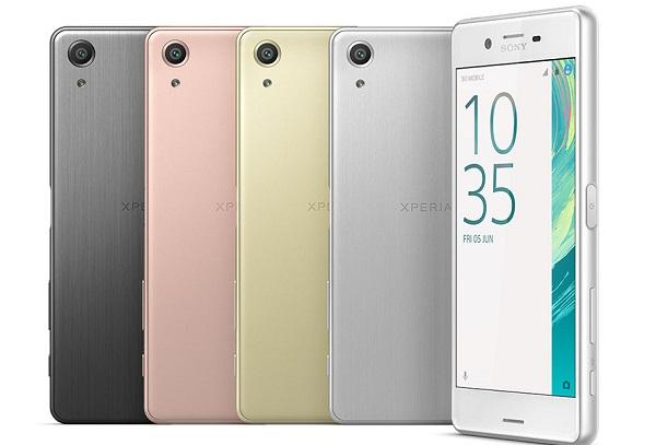 Tổng quan thiết kế Sony Xperia X Performance