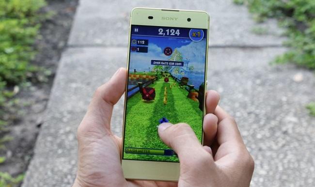 Chơi game thỏa thích trên Sony Xperia XA Cũ