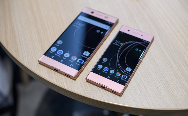 Sony Xperia XA1, XA1 Ultra màn hình