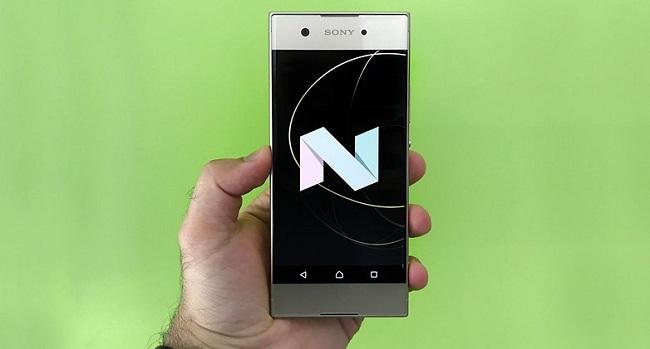 Sony Xperia XA1 chạy Android v7.0
