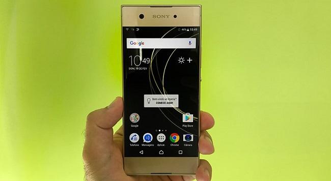 Sony Xperia XA1, XA1 Ultra mặt sau
