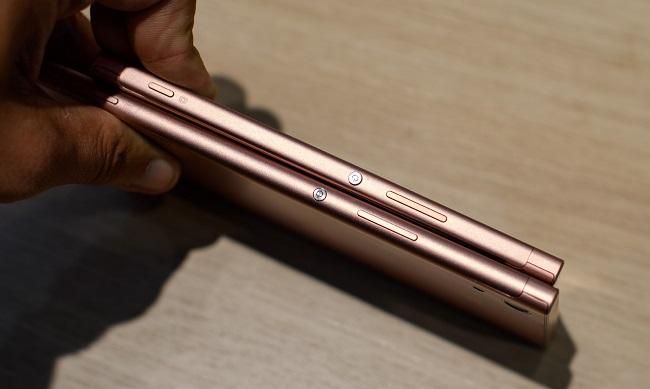 Kích thước Sony Xperia XA1