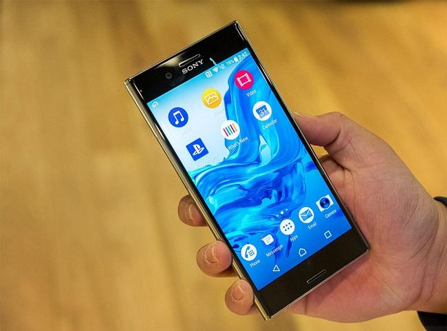 Sony Xperia XZ Premium màn hình