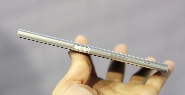 Sony Xperia XZ có thiết kế mỏng và đẹp