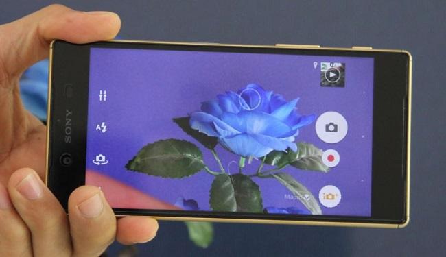 Giao diện chụp ảnh của Sony Xperia Z5 Cũ