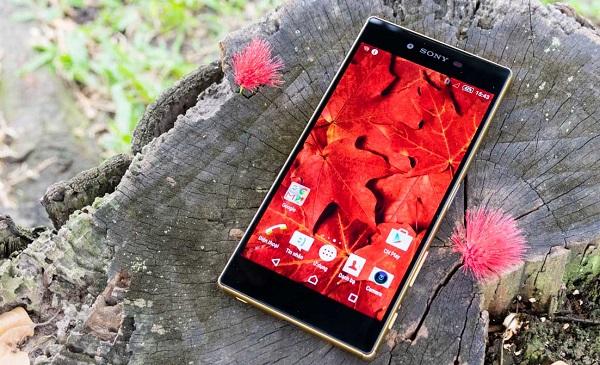 Màn hình Sony Xperia Z5 Premium chính hãng có độ phân giải lên đến 4K