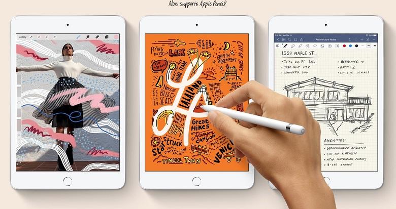 màn hình iPad Mini 5 2019 64GB (Wifi + 4G) Mới 100%