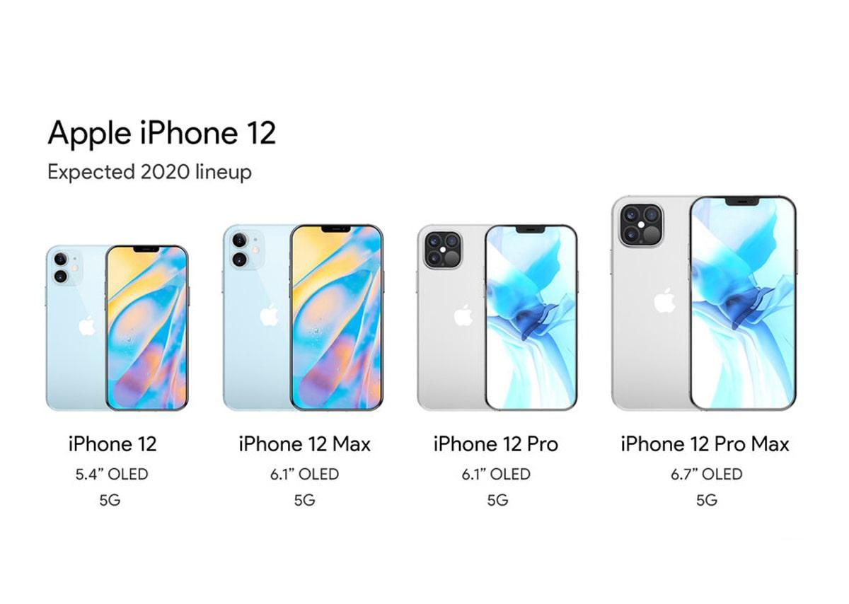 iPhone 12 các phiên bản