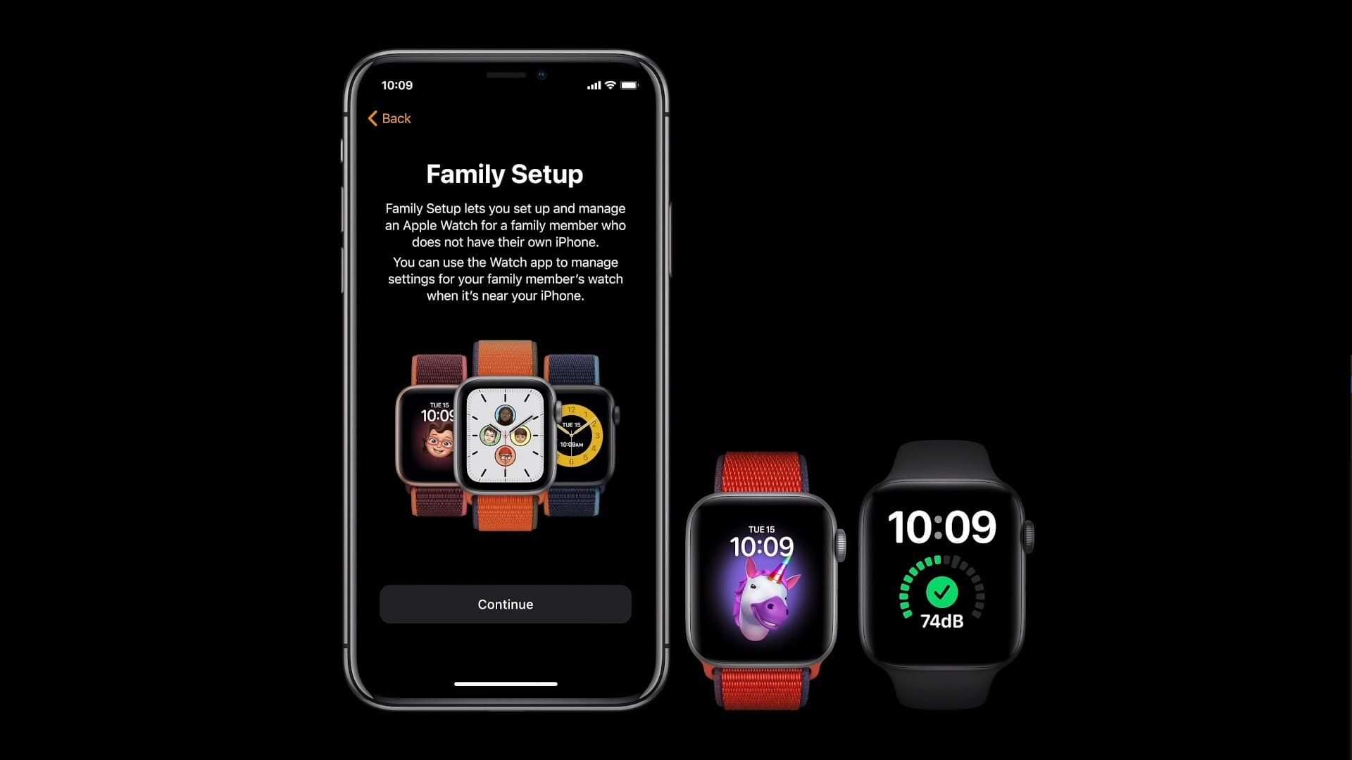 apple watch series 6 family setup