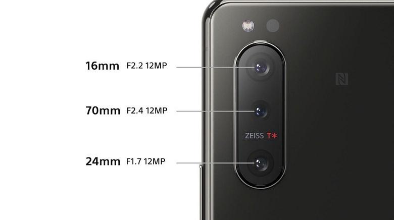 camera Sony Xperia 5 II