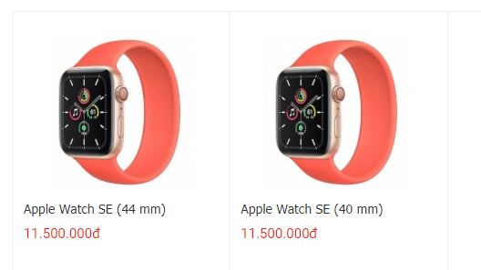 Đặt mua Apple Watch SE