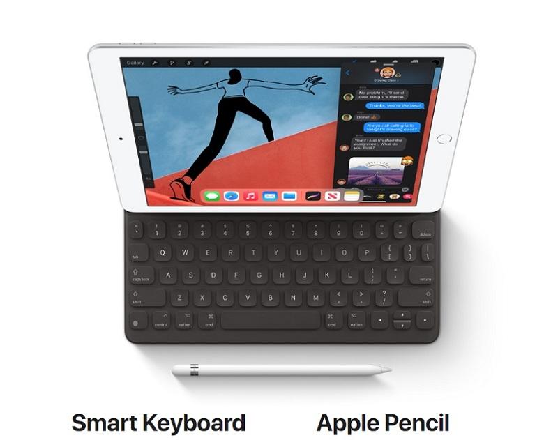 làm việc trên iPad Gen 8 (2020)