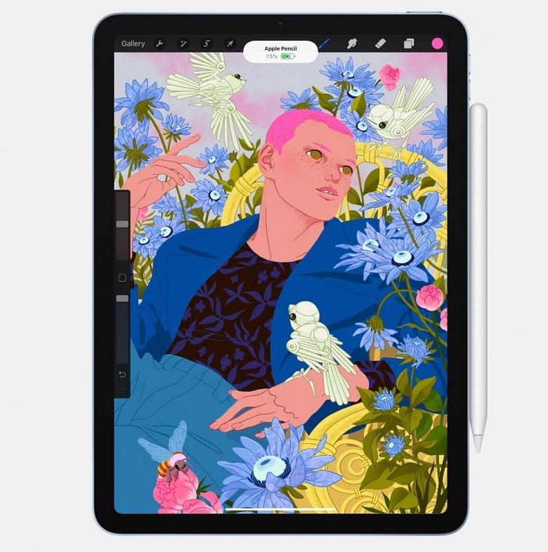 thiết kế iPad Air 4