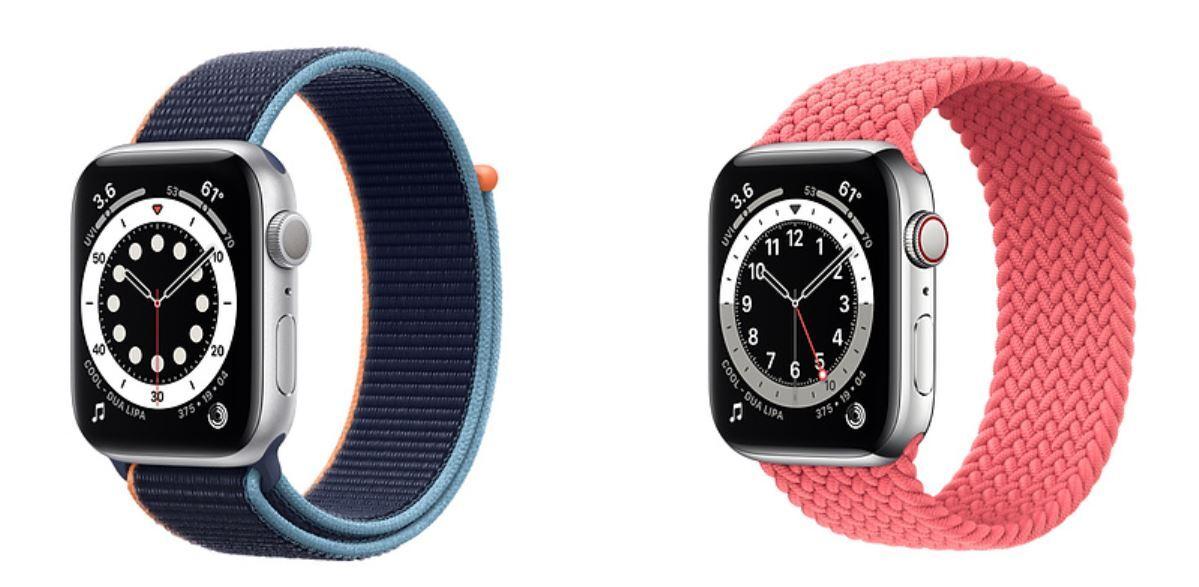 Nên mua apple Watch Series 6 màu bạc