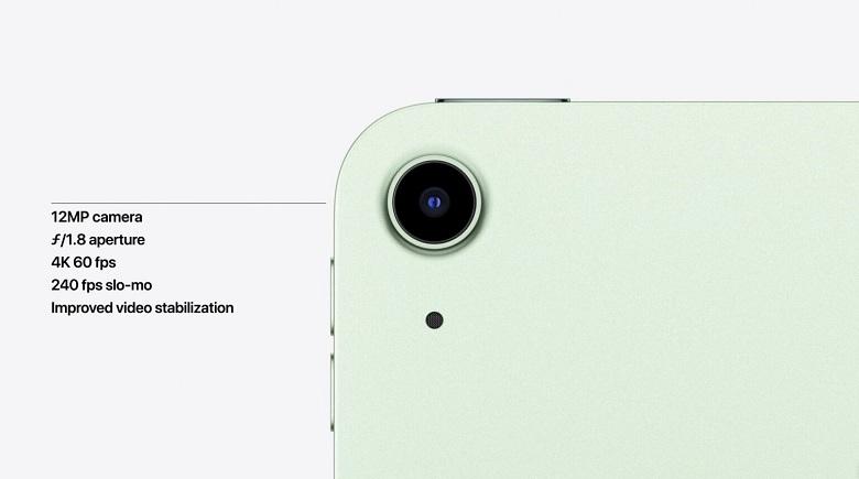 camera iPad Air 4 2020