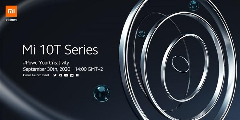 ngày ra mắt của Xiaomi Mi 10T và Mi 10T Pro
