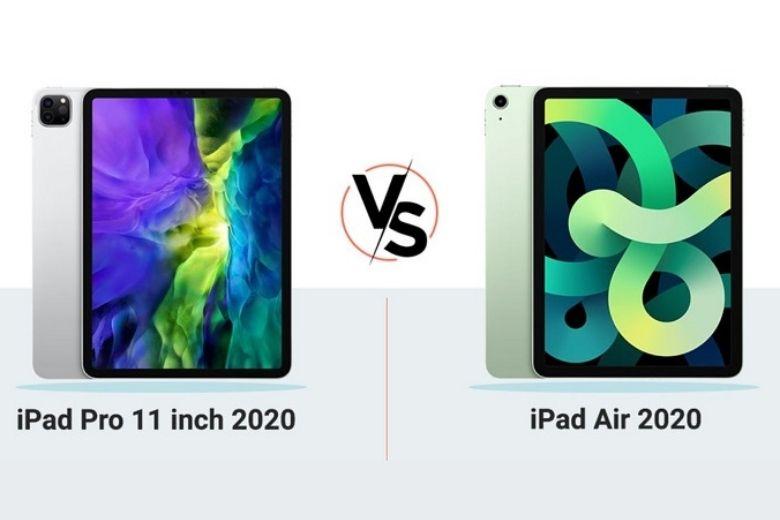 Nên mua iPad Air 4 2020 hay iPad Pro 2020