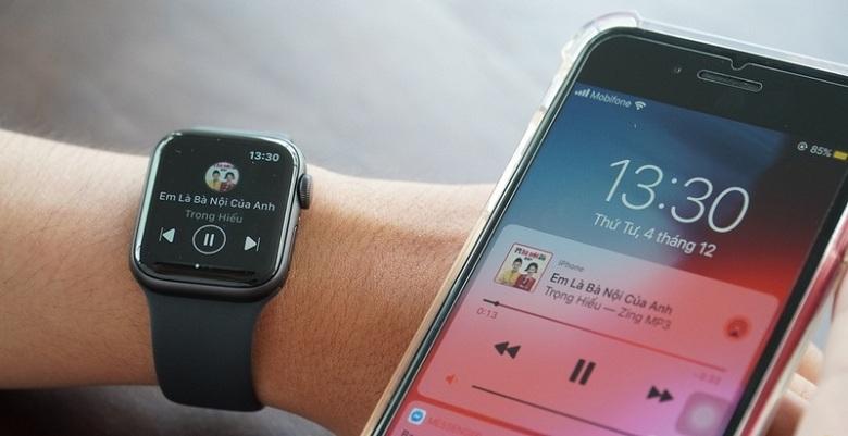 kết nối Apple Watch Series 5 (44 mm) VN/A