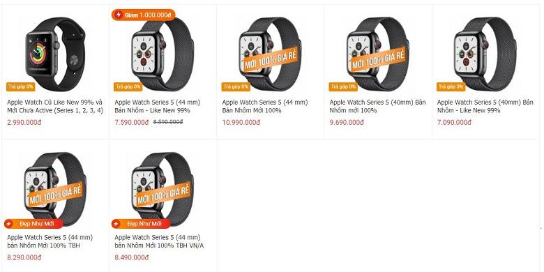 Đặt mua Apple Watch Series 5