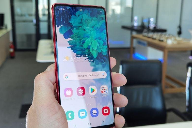 Samsung Galaxy S20 FE ngoại hình