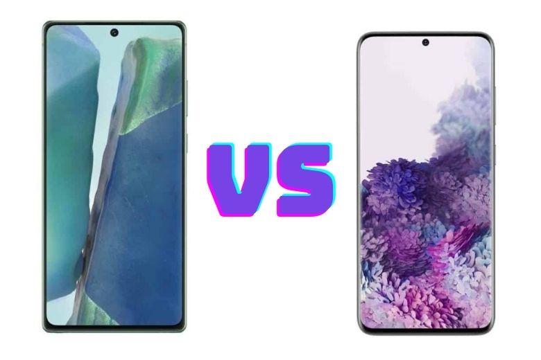 So sánh Samsung Galaxy S20 FE và Galaxy Note 20