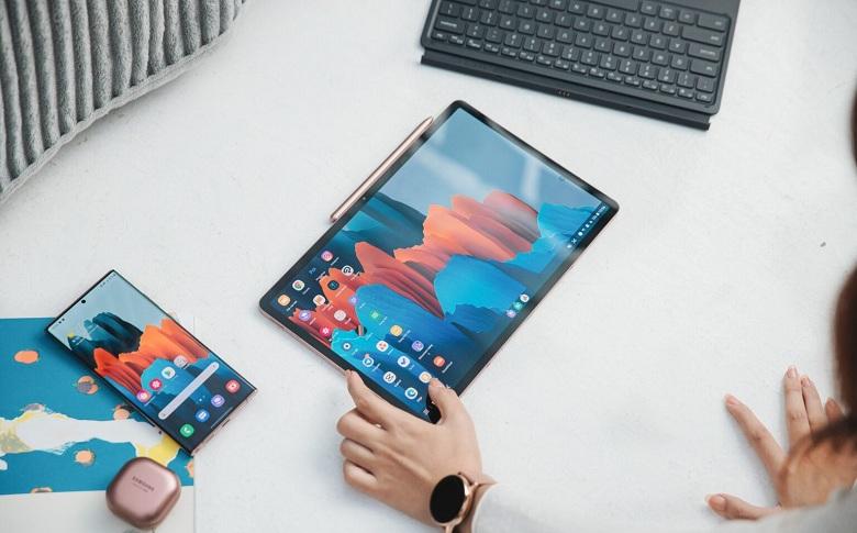 hiển thị Samsung Galaxy Tab S7 Plus