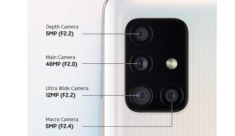 camera Galaxy A51 5G