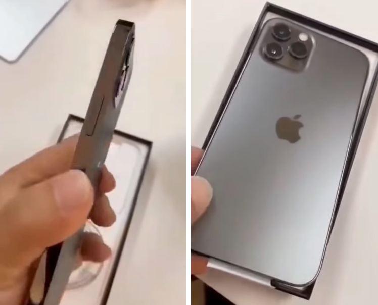 cạnh viền iPhone 12 Pro