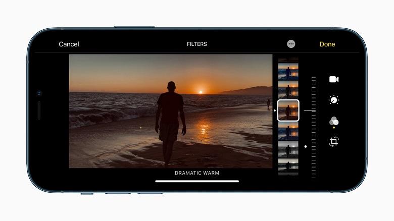 iphone 12 edit ảnh chuyên nghiệp
