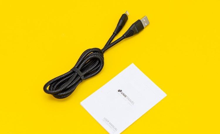 cáp sạc USB Lightning 1m Umetravel C1