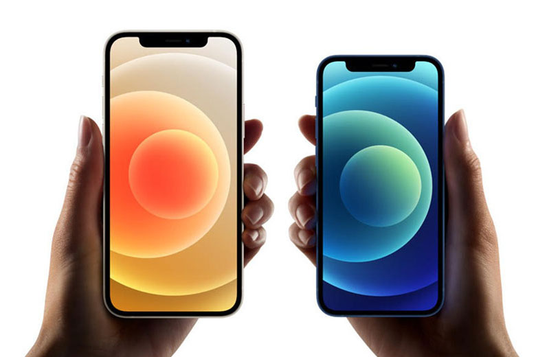 So sánh iPhone 12 với iPhone 12 mini