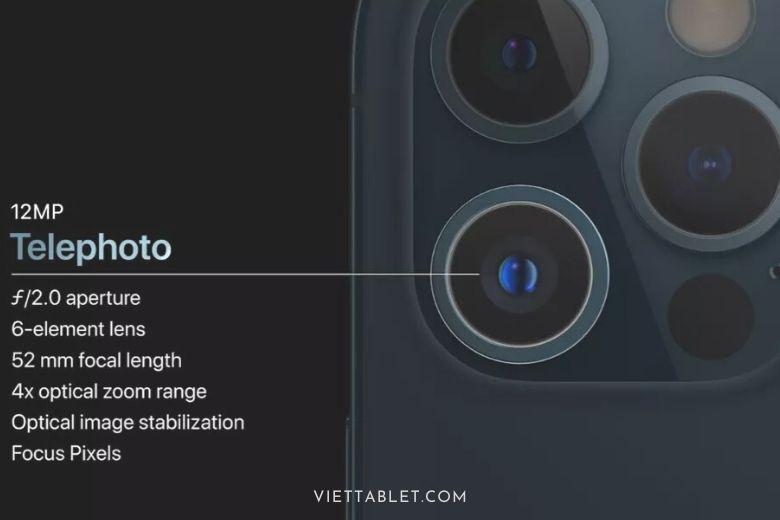 camera tel iphone 12 pro