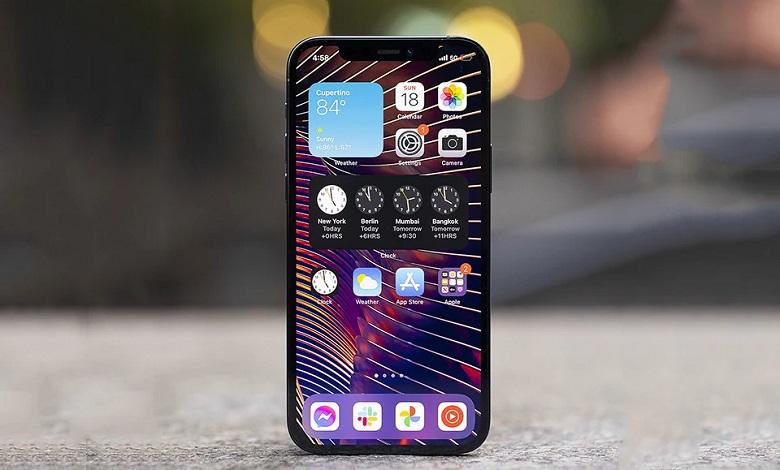 iphone 12 pro max hiển thị