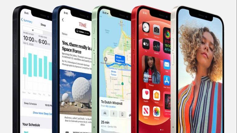 iPhone 12 Mini màn hình