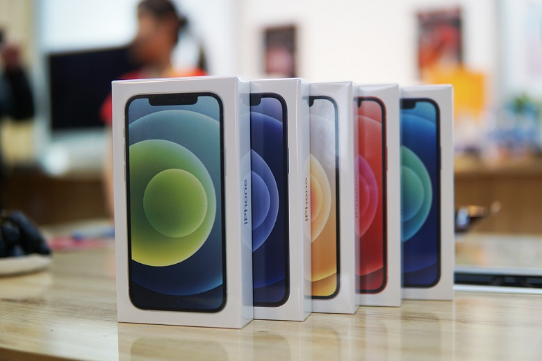 iphone 12 mini màu sắc