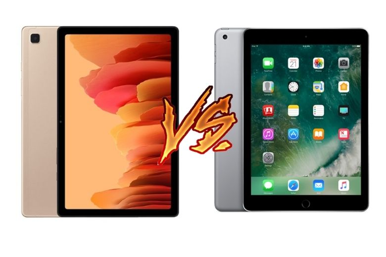 So sánh Samsung Galaxy Tab A7 2020 vs iPad Gen 6