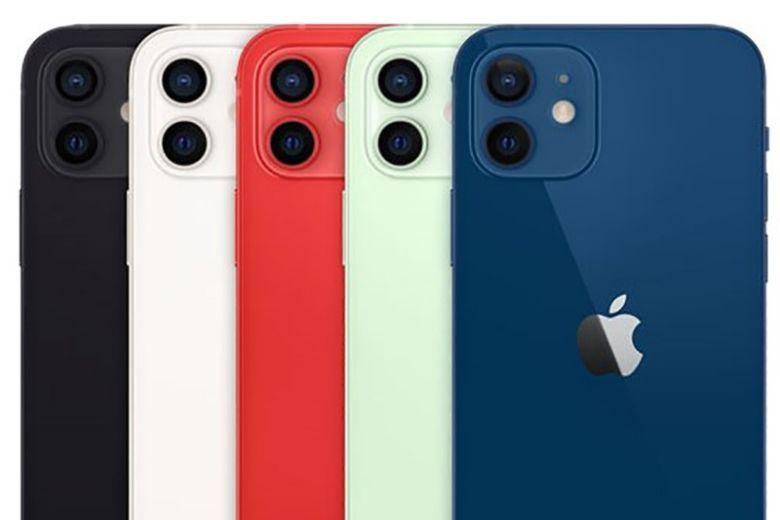 màu sắc iphone 12 mini