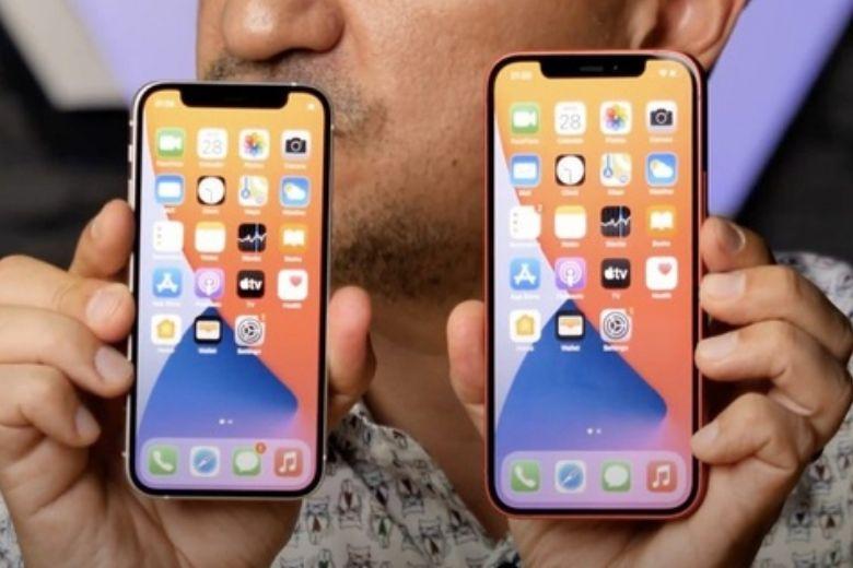 camera iphone 12 và camera iphone 12 mini
