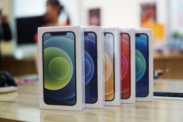 Bộ sưu tập màu sắc của iPhone 12