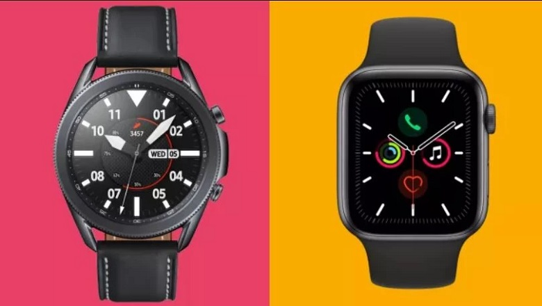 samsung galaxy watch 3 khác gì apple watch series 5